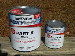 rust oleum shield garage floor