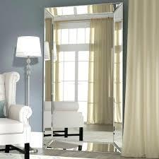 full length antique mirror floor