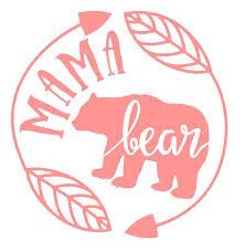 Mama Bear Decal Mama Bear Decal Bear Decal Mama Bear