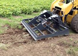 skid steer land leveler attachments
