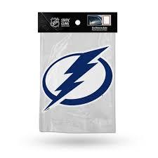 Tampa Bay Lightning Die Cut Static Cling Decal Sticker 5 X 5 New Car Window Walmart Com Walmart Com