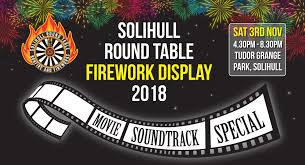 solihull round table fireworks at tudor