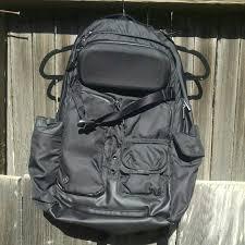 lululemon athletica bags black