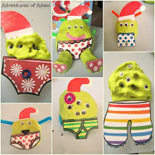 Aliens Love Panta Claus Play Dough