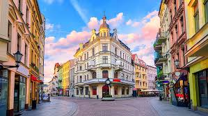 hd wallpaper old town square europe