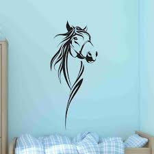 Horse Bust Wall Decal Sticker Vinyl Wall Art Wall Decor Style And Apply