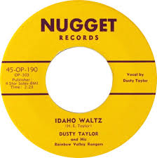 45cat - Dusty Taylor And His Rainbow Valley Rangers - My Shining Star /  Idaho Waltz - Nugget [50s] - USA - 45-OP-190