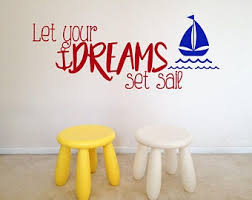 Set Sail Decal Etsy