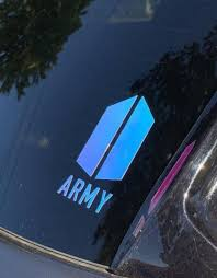 Bts Army Decals Etsy