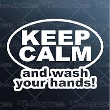 Wash Your Hands Decal Wash Your Hands Car Sticker New Designs