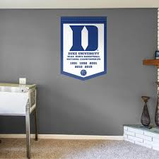 Men S Basketball National Championship Banner Officially Licensed Removable Wall Decal