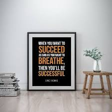Eric Thomas Inspirational Wall Art Print Motivational Quote Poster Decor Gift Ebay