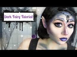 dark fairy halloween makeup tutorial
