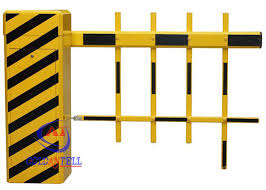 100m Rfid Long Range Car Park Boom Barrier Gate Outdoor Fence Park Barrier Gate