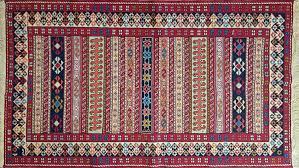 oriental handmade woolly persian carpet