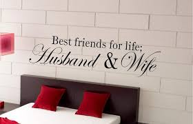 Amazon Com Best Friends For Life Husband And Wife Wall Saying Vinyl Lettering Art Decal Quote Sticker Home Decal Kitchen Dining