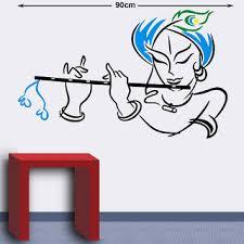 Buy Modern Krishna 5004 Hindu God Wall Decals Online 210 From Shopclues