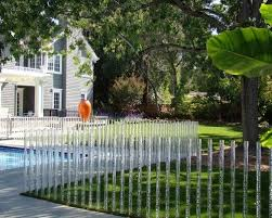 Fence Made Of Clear Acrylic W Bubbles Thats Just Really Cool Fence Design Backyard Fences Garden Fencing