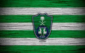 تحميل خلفيات 4k الأهلي نادي شعار دوري المحترفين السعودي لكرة