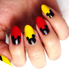 Marvelous Mickey · How To Paint A Character Nail · Beauty on Cut ...