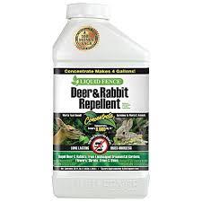 Liquid Fence Deer And Rabbit Repellent 1 Quart Concentrate Gardeners Edge