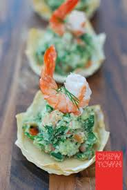 Prawn Avocado Crowns and Lobster Tails ...