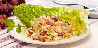 creamy coleslaw with en and gs