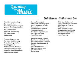 Cat Stevens - Father and Son | Lyrics, Father and son, How to know