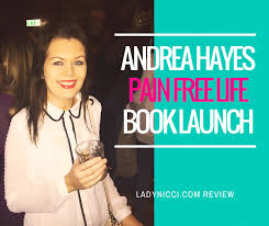 Andrea Hayes - Pain Free Life Book Launch, Lillie's Bordello - LadyNicci