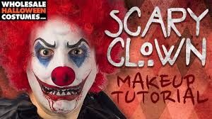 best scary clown makeup tutorial for