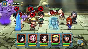 Naruto đại chiến mobile - 5 lục đạo +1 - YouTube