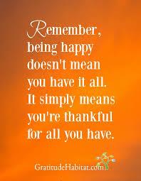 be happy be grateful us at gratitudehabitat com
