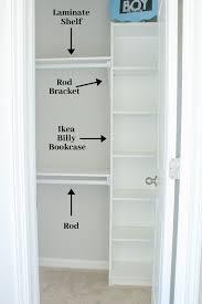 easy diy custom closet budget ikea