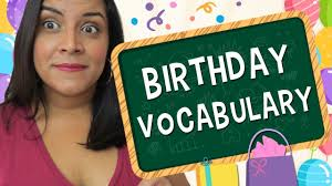 Aprende En Ingles Vocabulario Sobre Cumpleanos Birthday