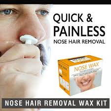 men s nose hair removal wax beads kit