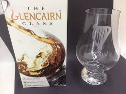 nosing glass ireland with harp donegal