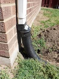 clogged gutter pipes underground roof