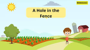 A Hole In The Fence Kid Story Stories For Children Moral Stories Youtube