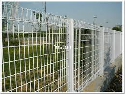 Arc Garden Wire Mesh Fence Panels Round Square Post Roll Top Easily Assembled