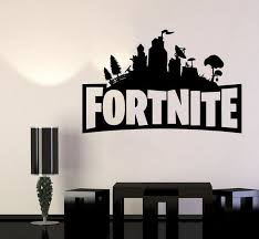 Fortnite Battle Royale Vinyl Decal Sticker For Decoration Video Game Vinyl Decals Wall Decals Vinyl Decal Stickers