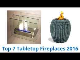 7 best tabletop fireplaces 2016 you