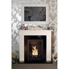 cream traditional bio ethanol fireplace
