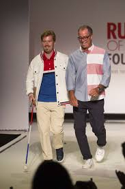 diities highlighted on catwalk