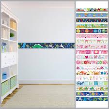 Wallpaper Borders Children S Kids Nursery Boys Girls Bedroom Wall Self Adhesive Check More At Wallpaper Border Kids Childrens Wall Decals Wall Stickers Bedroom