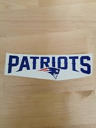 Home Garden Decor Decals Stickers Vinyl Art New England Patriots 8 Nfl Team Logo Vinyl Decal Car Window Wall Cornhole