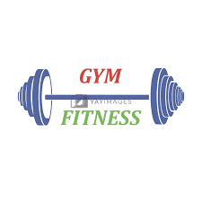 sports weight icon on white background