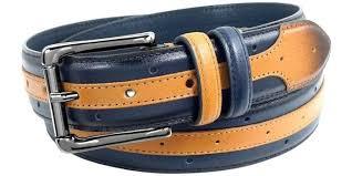 men s slim leather belt modern