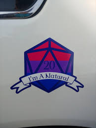 The New Decal For My Car I Got To Show Off My Bi Pride And Love Of D D Bisexual