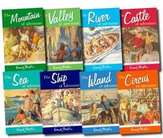 Image result for enid blyton  adventure books""