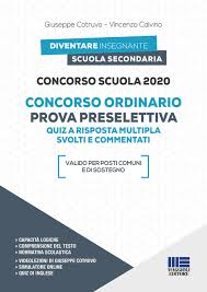 Concorso Scuola 2020 - Concorso ordinario Prova preselettiva ...